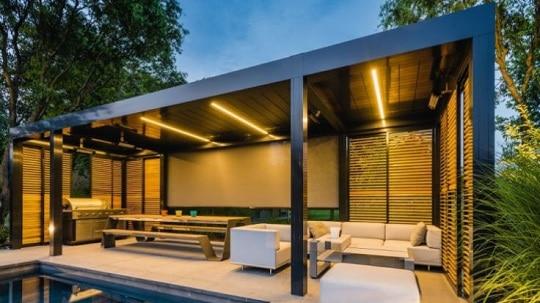 camargue terasz s kerti rny kol a renson t l aten. Black Bedroom Furniture Sets. Home Design Ideas